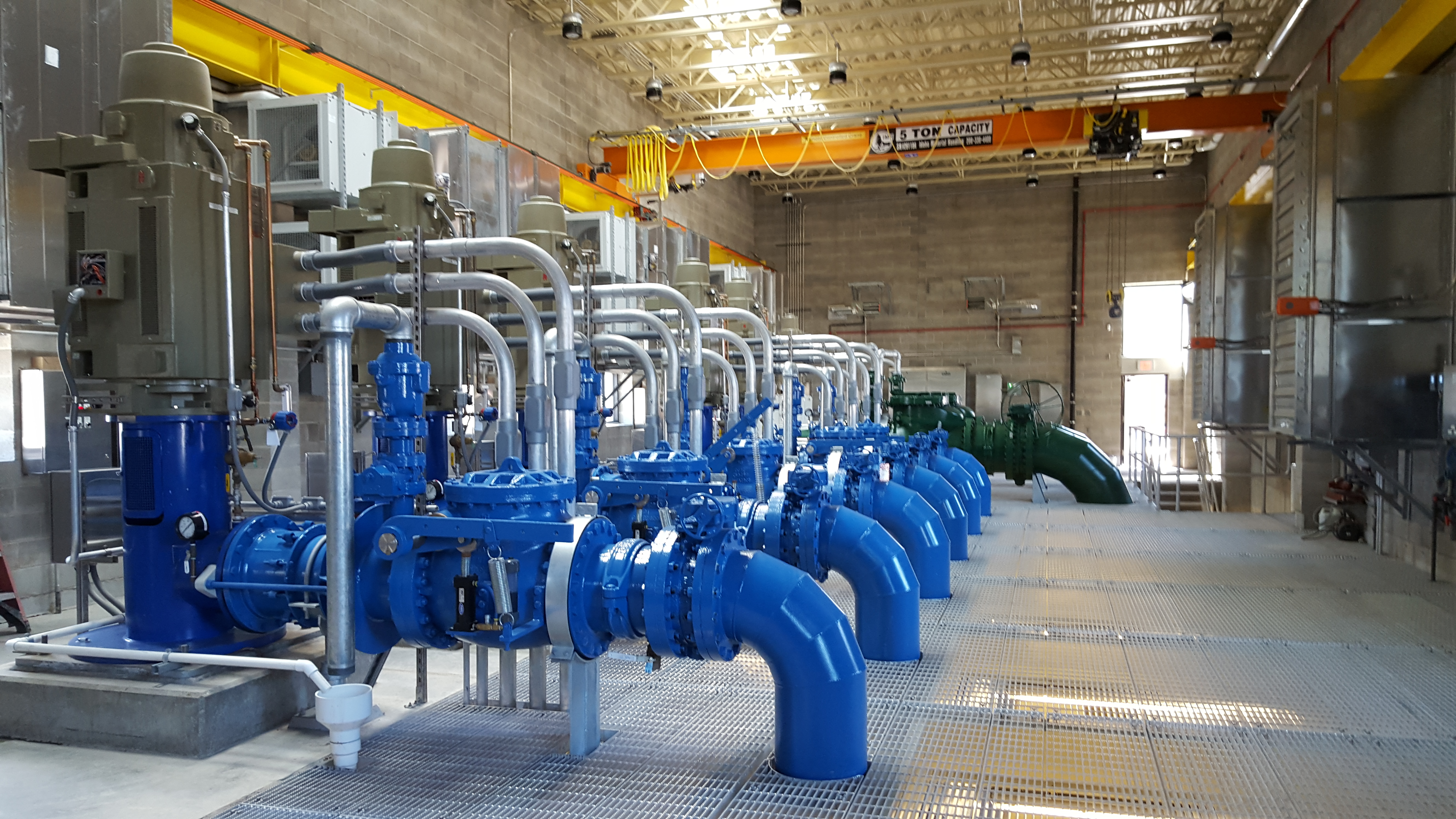 Water Treatment Control System Design Upgrade Portland Piping Instrumentation Diagram Plant Previous